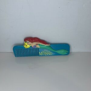Disney's The Little Mermaid Ariel Hair Comb 1991 Girls Collectable Accessories