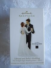 Hallmark 2012 Edward and Bella's Wedding - Twilight Breaking Dawn Ornament NIB