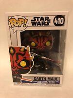 Darth Maul Funko Pop #410 Clone Wars Star Wars Kenobi Brand New In Protector BN