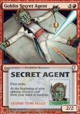 4x Goblin Secret Agent MTG Regular NM, English Unhinged