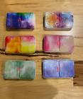 Empty Watercolor Tins Palette Paint Case with 24 Magnetic Quarter Pans