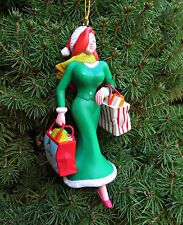 "WALT DISNEY GROLIER Jessica Rabbit from ""Roger Rabbit"" Christmas Tree Ornament"