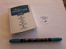 Stampin up ✿ Stempelkissen Marker Stift Petrol ✿ Set Island Indigo Blau Grün TOP