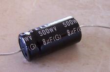 Elum 8uf 500 Volt Electrolytic Capacitor