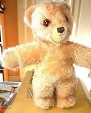 Süßer kleiner Steiff Teddybär 30 cm braun * Knopf im Ohr *rote Schleife