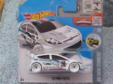 Hot Wheels 2016 #157/250 2012 FORD FIESTA white HW Snow Stormers Case C
