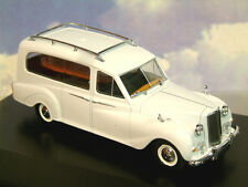 GREAT OXFORD DIECAST 1/43 AUSTIN PRINCESS FUNERAL HEARSE IN ANGELIC WHITE APH002