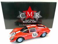 CMR 1/18 Scale Resin - 039 Ferrari Dino 206S Berlinetta #36 Le Mans 1966