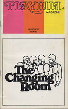1973 Playbill THE CHANGING ROOM John Lithgow Charles Bowden George Hearn