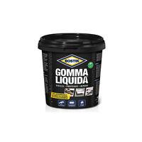 BOSTIK GOMMA LIQUIDA 750 ml NERO verniciabile rivestimento impermeabilizzante