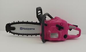 Husqvarna 440 Toy Kids Battery Operated Pink Rotating Chainsaw - Limited Edition