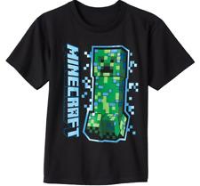 Minecraft Creeper Black T Shirt New Game Jinx New
