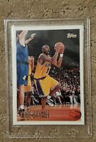 KOBE BRYANT 1996/97 TOPPS BASKETBALL #138 RC ROOKIE CARD LOS ANGELES LAKERS MINT