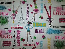 DIVA I LOVE SHOPPING PARIS LONDON NYC DESIGNERS TRENDS WHITE COTTON FABRIC FQ