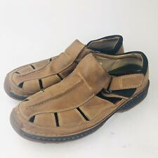 1fe8a9e1aec8 Timberland Mens Altamont 79092 Fisherman Sandals Size 10M Brown Leather  Shoes
