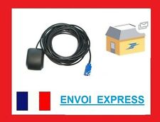 Antenne GPS Fakra pour Citroen Peugeot RT4/5 6 Wipcom Wip Sat Nav Myway BNS RNS