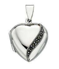 Marcasite Locket Fine Necklaces & Pendants