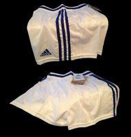 Short pour enfant Adidas bleu blanc neuf