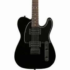 Fender 370202565 Squire Telecaster HH Electric Guitar - Metallic Black
