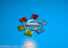 Premium Micro Mini Blade Spare Fuses Kit for N16 Nissan Pulsar 2000 to 2005