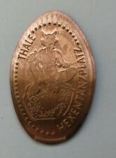 1 x Elongated Coin - THALE HEXENTANZPLATZ - Souvenirmünze - Quetschmünze