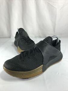 Nike Zoom Live Mens Basketball Shoes Lightweight Low Black/Gum 852421-011 7.5