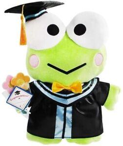 "13.5"" Sanrio Keroppi Frog Graduation Plush Figure Stuffed Animals Toy Grad Gift"