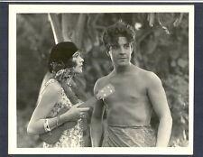 BEEFCAKE RAMON NOVARRO + RENEE ADOREE - EXC COND 1929 SILENT HUNK BFK THE PAGAN