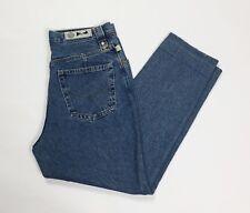 GTR group jeans donna usato w34 tg 48 carota affusolato denim boyfriend T3585