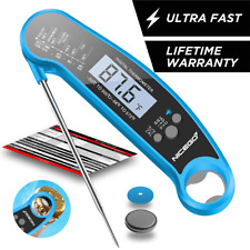 Digital Meat Thermometer Instant Read for Cooking BBQ Grilling Oven-Safe