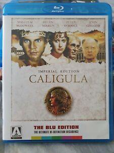 Caligula Blu-ray + DVD, 2 discs, Arrow Video, Malcolm McDowell, cult, rare