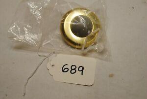 Rockwood 406.3 Wrot Wall Bumper Dome Door Stop Bright Brass (689)
