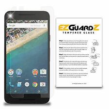 EZguardz Premium Real Tempered Glass Screen Protector Shield For LG Nexus 5X