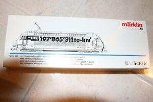 Vtg. Marklin HO Digital Locomotive 34616 SBB CFF FFS Fortico HCB in original box