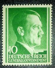 Travelstamps: 1941Stamp Germany Poland General Gov't Mi 074 Sc N79 1941 Wwii Mnh