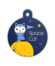 Petfetch Pet Id Tag Space Cat Smart Retrieval System. Free Shipping In The Usa