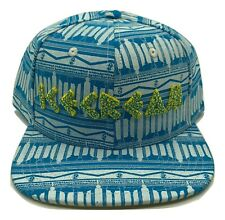 d8d4026b1c0b2 Billionaire Boys Club BBC SnapBack Ice Cream Ancient Blue White Hat  Authentic