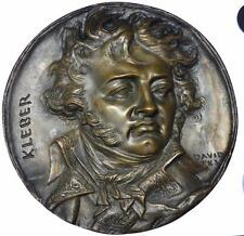France - Kleber 1831 Napoleonic plaque by David d'Angers Eck et Durand foundry