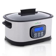 Multi-Cooker Digital LCD Display, (11) Preset Cooking Modes, Stainless Steel