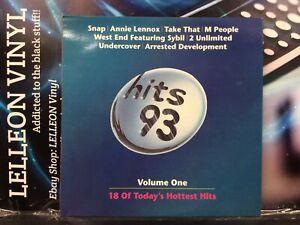 Hits 93 Volume One Compilation LP Album Vinyl Record STAR2641 A1/B1 Pop 90's