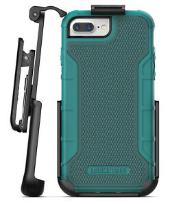 Apple iPhone 8 Plus Belt Case w/ Build in Screen Protector, Cover w/ Holster