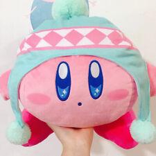 Cute Pupupu Illumination Kirby Plush Doll Winter with hat Plush Kirby Japan 30cm