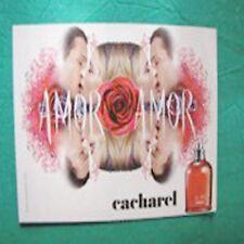 Cartolina Promocard Cacherel Amor Amor San Valentino