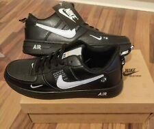 Nike Air Force 1 LV 8 Utility Herren Schuhe Sneaker schwarz und weiß/Größe 45
