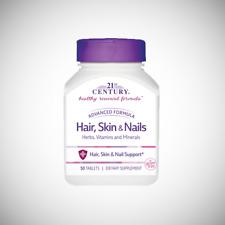 21st Century Hair, Skin and Nails Vitamins - 50 Caplets