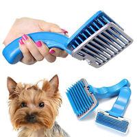 Professional Dog Cat Shedding Grooming Trimmer Hair Fur Comb Brush Rake Tool NEW
