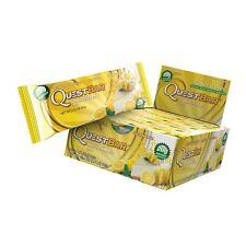 Lot of 2 Quest Nutrition Protein Bar, Lemon Cream Pie, 24 Count BB: 08/03/2018