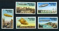 Niger MiNr. 522-26 postfrisch MNH Zeppelin (Zep160
