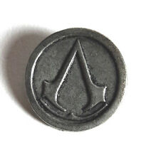 "Assassin's Creed Logo Metal Pin 1""- FREE S&H"