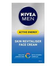 Nivea for Men Active Energy Skin Revitaliser Face Cream 50ml UVA/UVB Filters
